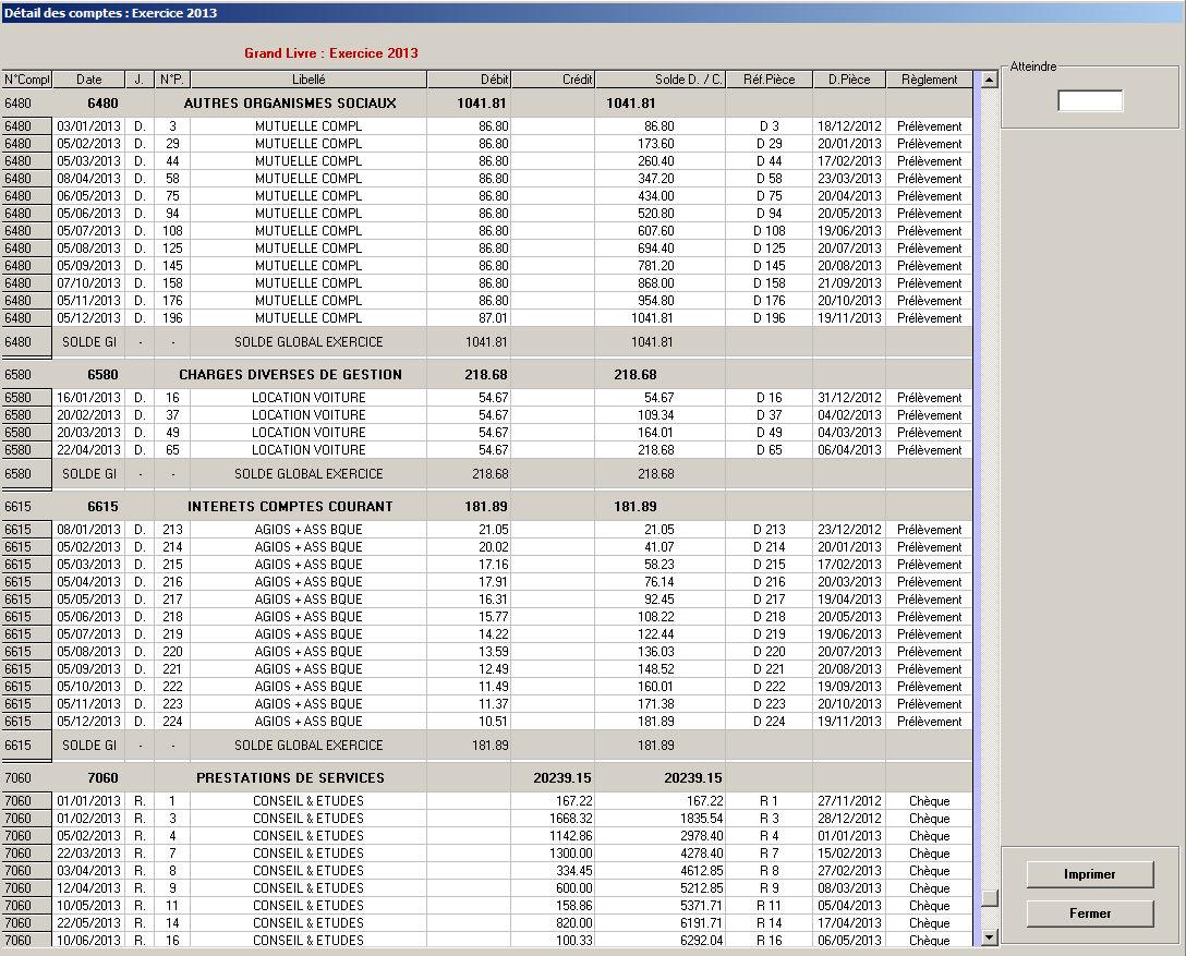 Grand livre comptable comptabilit orplan bnc for Le grand livre du minimalisme